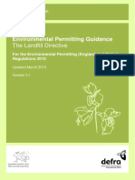 Pb13563 Landfill Directive 100322