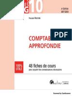 Livre DCG 10 Comptabilité Approfondie 2017 - 2018