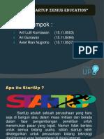 Review StartUp Zenius Education