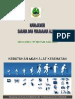 3 Manajemen Sarana & Prasarana Alkes