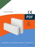 Manual Instrucciones Emisores Baja Temperatura VARESE