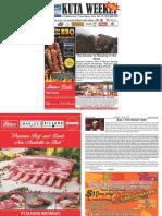 "Kuta Weekly - Edition 561 ""Bali's Premier Weekly Newspaper"""