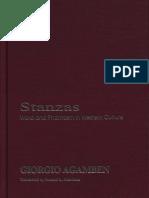 Giorgio Agamben-Stanzas_ word and phantasm in Western culture  -U of Minnesota Press (1993).pdf