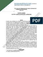 Examen Lengua Grado Superior Castilla La Mancha Junio 2013 Enunciado