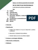 Modalidad de Titulación Informe de Practicas Enen