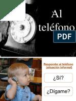 HABLAR ESPAÑOL - A1 A2 Conversación Telefónica