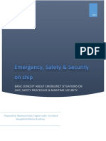 Emergency, Safety & Security on Ship