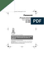 Manual Panasonic Kx-tgb210