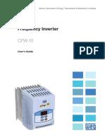 WEG Cfw10 Users Manual
