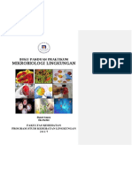 Panduan Praktikum Mikrobiologi Lingkungan 2017