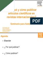 Elsevier_Por Que y Como Publicar