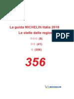 Guida Michelin, le stelle delle regioni