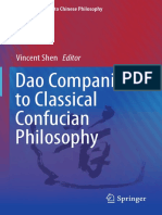 Dao Companion to Classical Confucian Philosophy