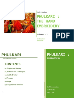 Phulkari Craft Document