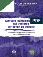 Abordaje Multidisciplinario Del TDA - Sara Solzi