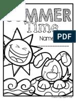 FREESummerTimeColoringBookMadebyCreativeClipsClipart