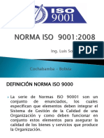 Norma Iso 9001 Univalle 2016