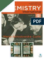 Marie Curie Especial IUPAC