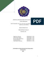 Contoh PKM Kewirausahaan (PKM 5 Bidang 2016)