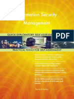 Information Security Management Quick Exploratory Self-Assessment Guide