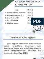 Vulva Hygines Ppt