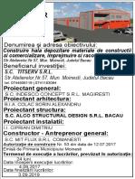 Panou de Santier-TITU