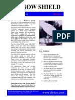 Walton Snow Shield Data Sheet
