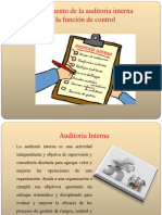 Fundamento de La Auditoria Interna Diapositiva