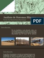 Análisis de Sistemas Mineros.pptx