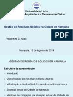 Gestão de Resíduos Sólidos Urbanos Em Nampula (2)