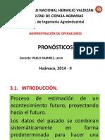 Pronosticos - A