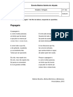 Ficha de Leitura_Papagaio_Sidónio Muralha