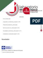 Normas ISO y Calidad en La Calibración de Equipos