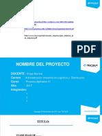 Proyecto Aplicativo III - Modelo