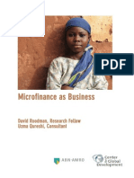 Micro Finance as Business