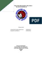 laporan esterifikasi