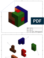 puzzle cube drawing files
