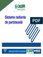 1_Incalzire in Pardoseala CALEFFI-RDZ