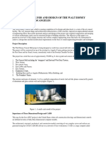 Structural Analysis and Design of the Walt Disney Concert Hall