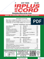 DECEMBER 2017 Surplus Record Machinery & Equipment Directory