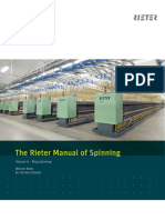 The Rieter Manual of Spinning Vol. 4 1924-V3 83538 Original English 83538