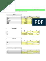 Planilla de Excel Para Conversion de Unidades