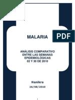 Malaria-Análisis Comparativo semanas 02 y 30