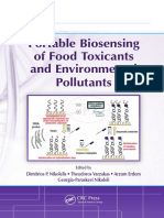 Nikolelis, Dimitrios P.; Varzakas, Theodoros; Erdem, Arzum; Nikoleli, Georgia-paraske Portable Biosensing of Food Toxicants and Environmental Pollutants