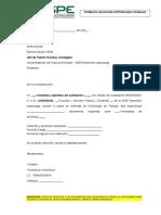Formato Solicitud Certificado Trabajo