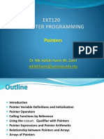 EKT120 Lecture09 - Pointers