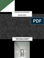Historia de Los Estilos Minimalismo2