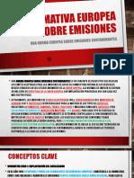 Normativa Europea Sobre Emisiones