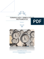 Terminología y Simbología de Instrumentos Practica3