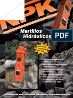NPK MARTILLOS HIDRÁULICOS